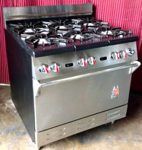 new commercial wolf stove